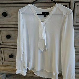 Women's cream blouse